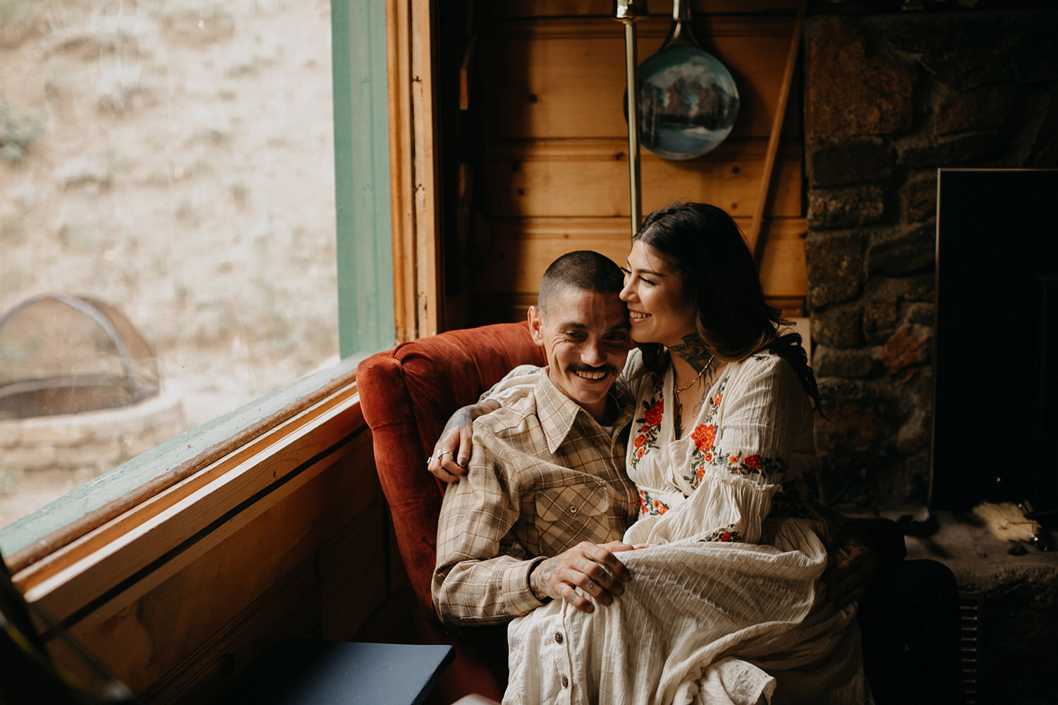 Bailey Colorado Denver Wedding Engagement Photographer Liz Osban Cheyenne Wyoming Mountain Elopement Boho bohemian vintage film tattoo non traditional tattooed rock and roll 43.jpg