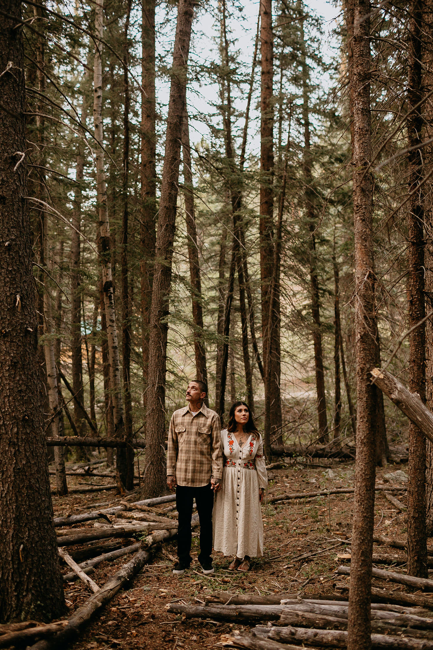 Bailey Colorado Denver Wedding Engagement Photographer Liz Osban Cheyenne Wyoming Mountain Elopement Boho bohemian vintage film tattoo non traditional tattooed rock and roll 46.jpg