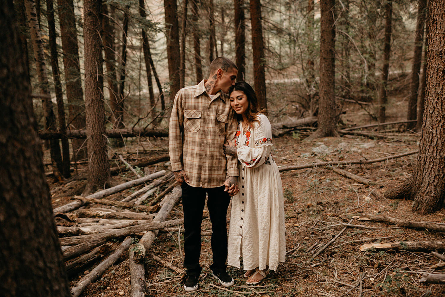 Bailey Colorado Denver Wedding Engagement Photographer Liz Osban Cheyenne Wyoming Mountain Elopement Boho bohemian vintage film tattoo non traditional tattooed rock and roll 47.jpg
