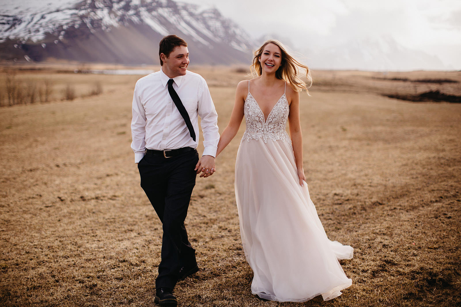 Icelandic Iceland Elopement Wedding Elope Photographer Eloping Reykjavík Vik Black Sand Beach Jökulsárlón Skogafoss Waterfall Vestrahorn Mountain Liz Osban Photography Destination 19.jpg