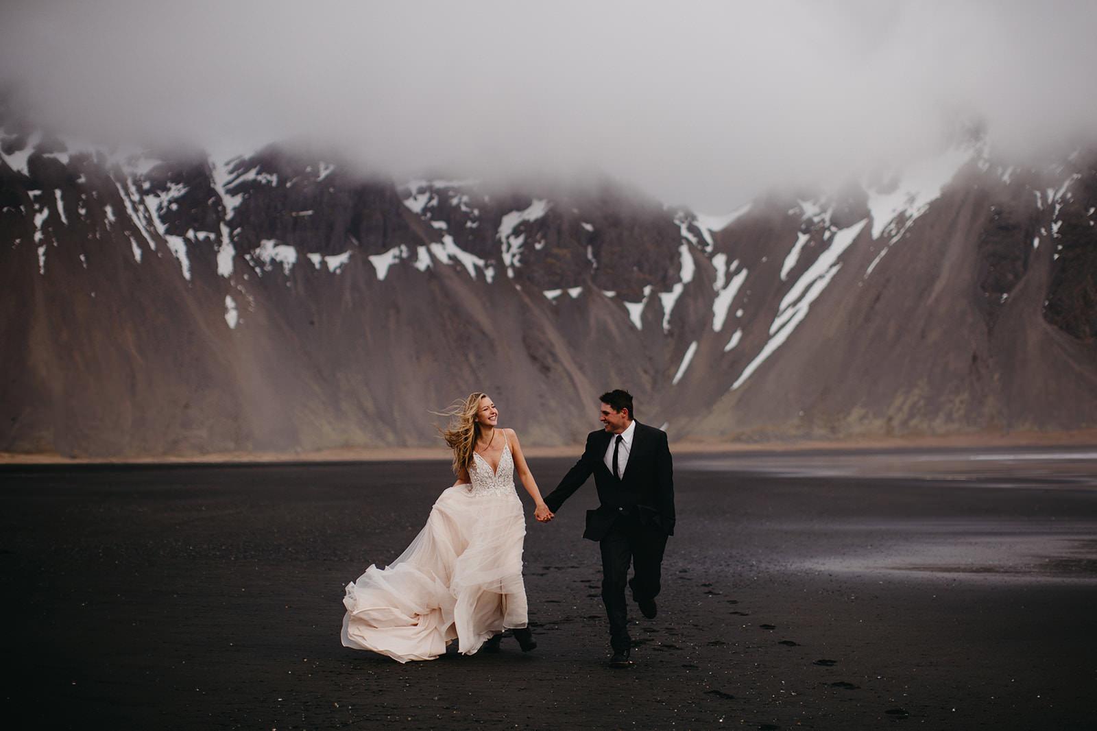 Icelandic Iceland Elopement Wedding Elope Photographer Eloping Reykjavík Vik Black Sand Beach Jökulsárlón Skogafoss Waterfall Vestrahorn Mountain Liz Osban Photography Destination 39.jpg