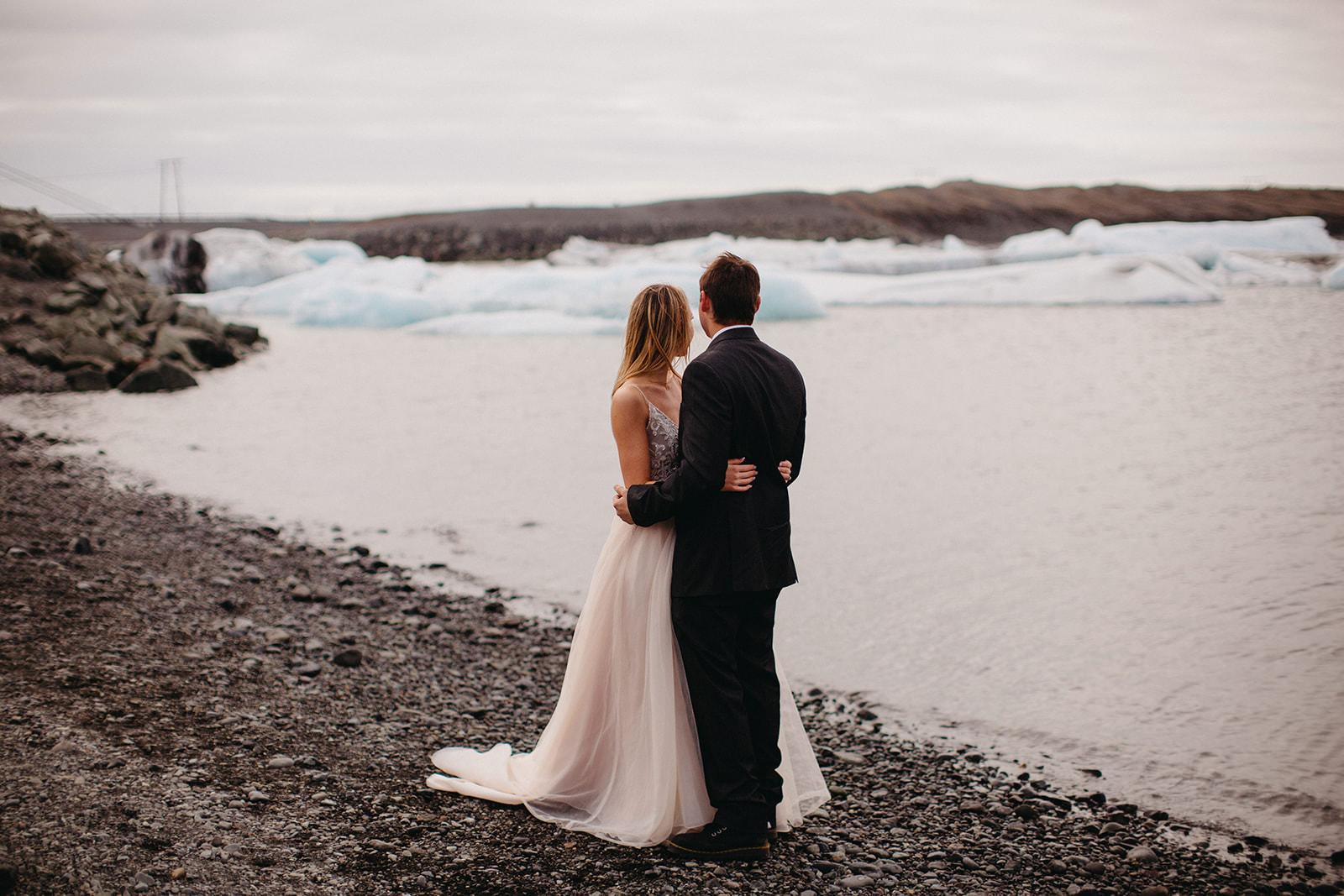 Icelandic Iceland Elopement Wedding Elope Photographer Eloping Reykjavík Vik Black Sand Beach Jökulsárlón Skogafoss Waterfall Vestrahorn Mountain Liz Osban Photography Destination 50.jpg