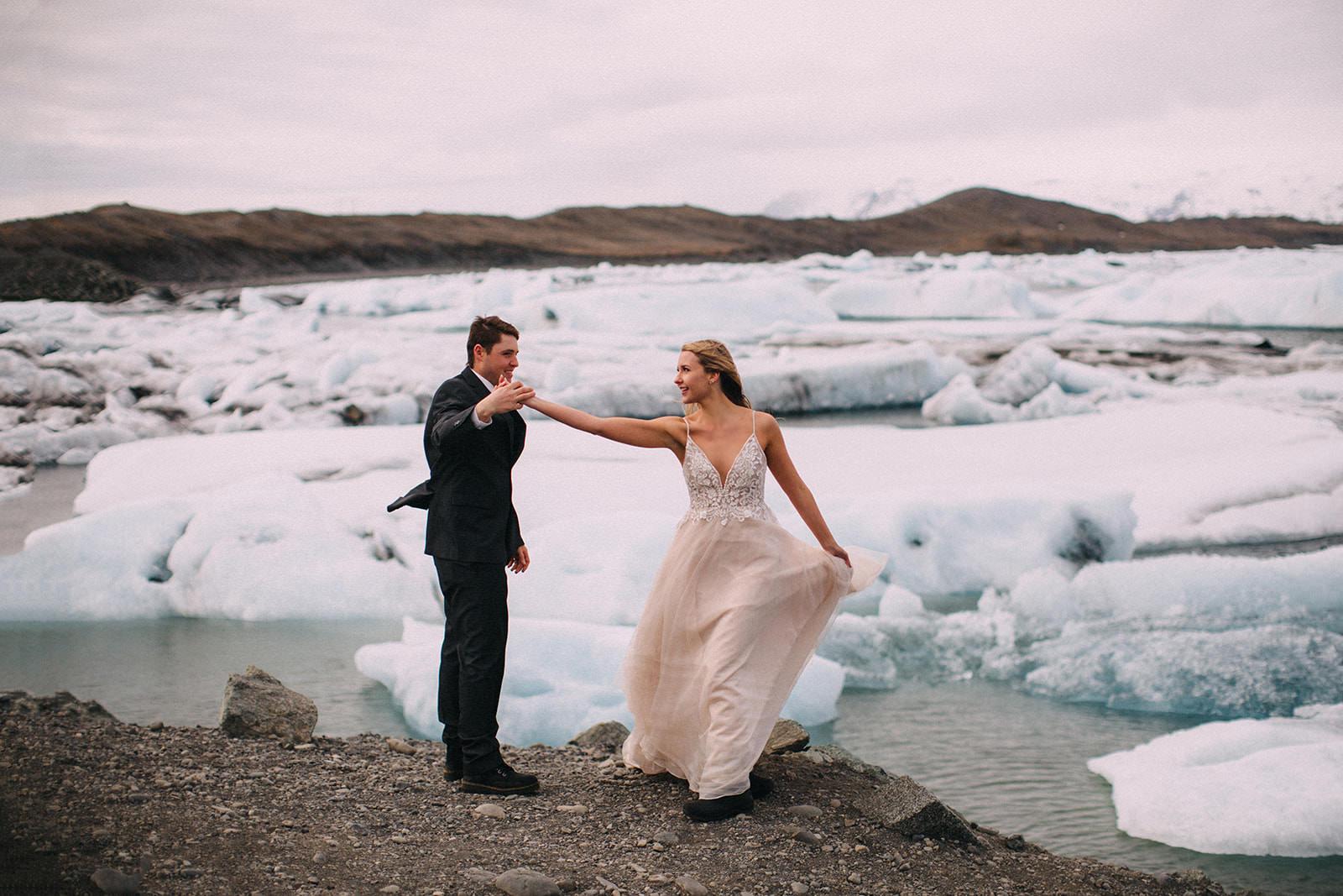 Icelandic Iceland Elopement Wedding Elope Photographer Eloping Reykjavík Vik Black Sand Beach Jökulsárlón Skogafoss Waterfall Vestrahorn Mountain Liz Osban Photography Destination 51.jpg