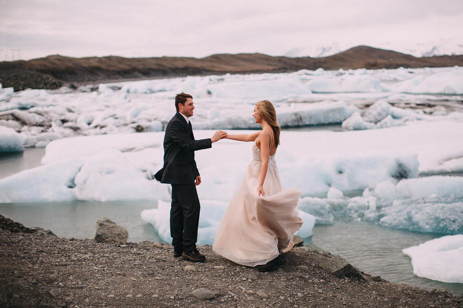 Icelandic Iceland Elopement Wedding Elope Photographer Eloping Reykjavík Vik Black Sand Beach Jökulsárlón Skogafoss Waterfall Vestrahorn Mountain Liz Osban Photography Destination 52.jpg