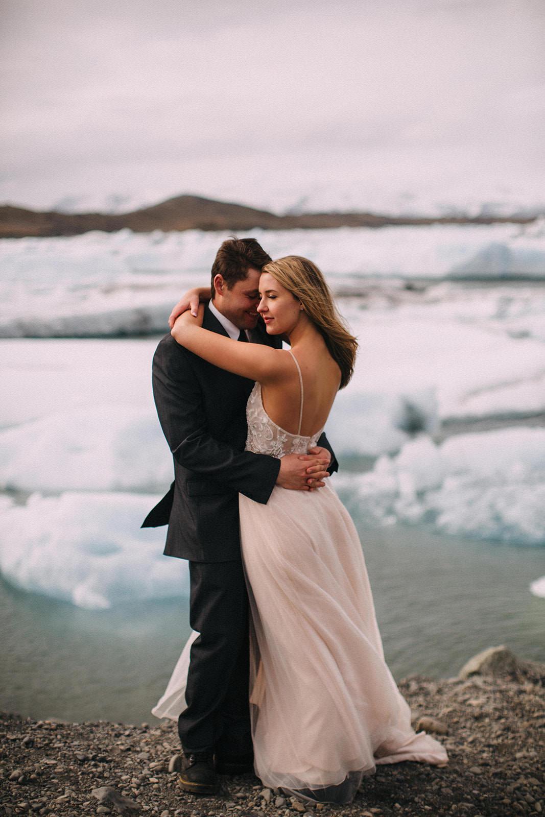 Icelandic Iceland Elopement Wedding Elope Photographer Eloping Reykjavík Vik Black Sand Beach Jökulsárlón Skogafoss Waterfall Vestrahorn Mountain Liz Osban Photography Destination 54.jpg