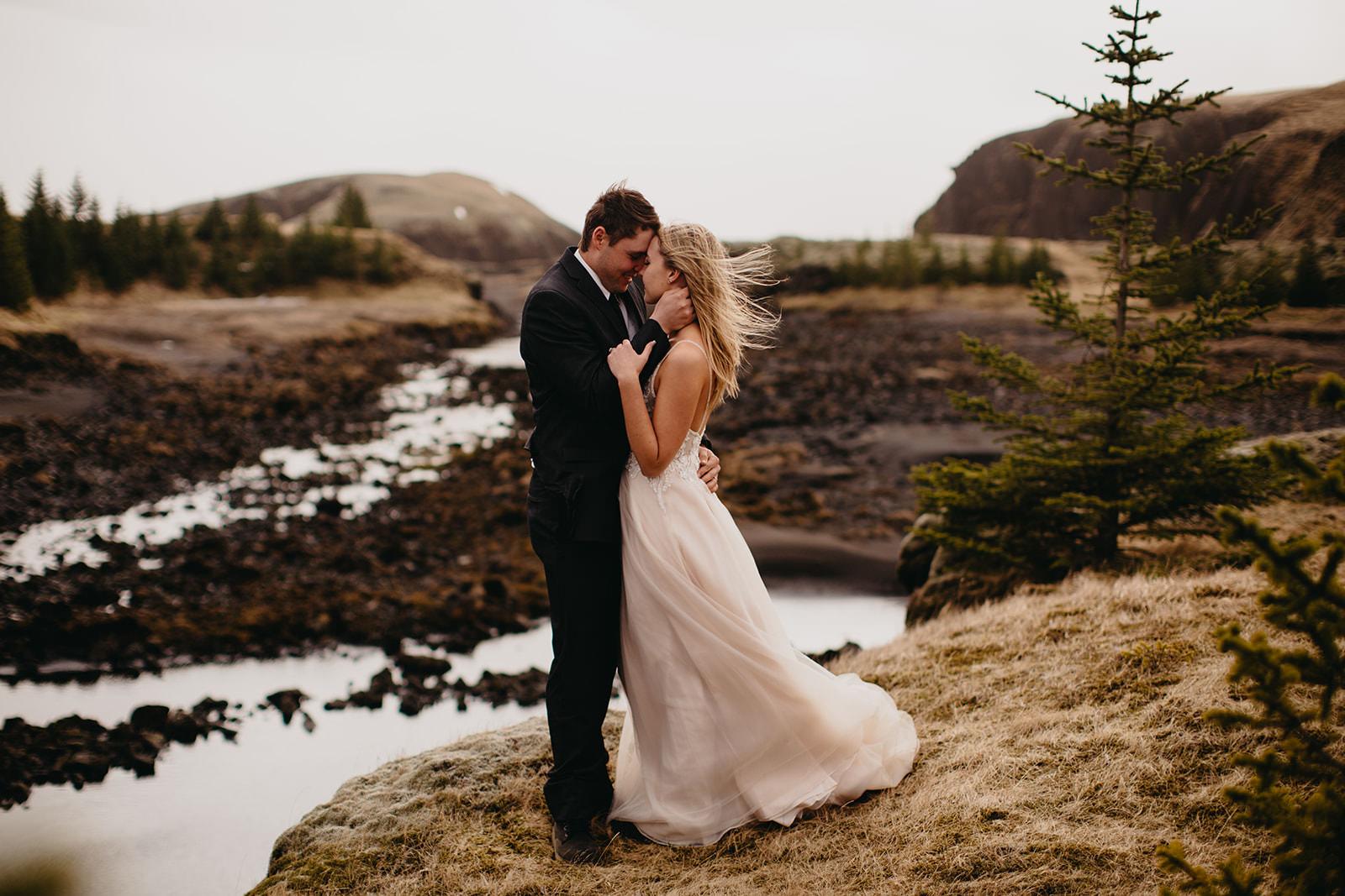 Icelandic Iceland Elopement Wedding Elope Photographer Eloping Reykjavík Vik Black Sand Beach Jökulsárlón Skogafoss Waterfall Vestrahorn Mountain Liz Osban Photography Destination 66.jpg