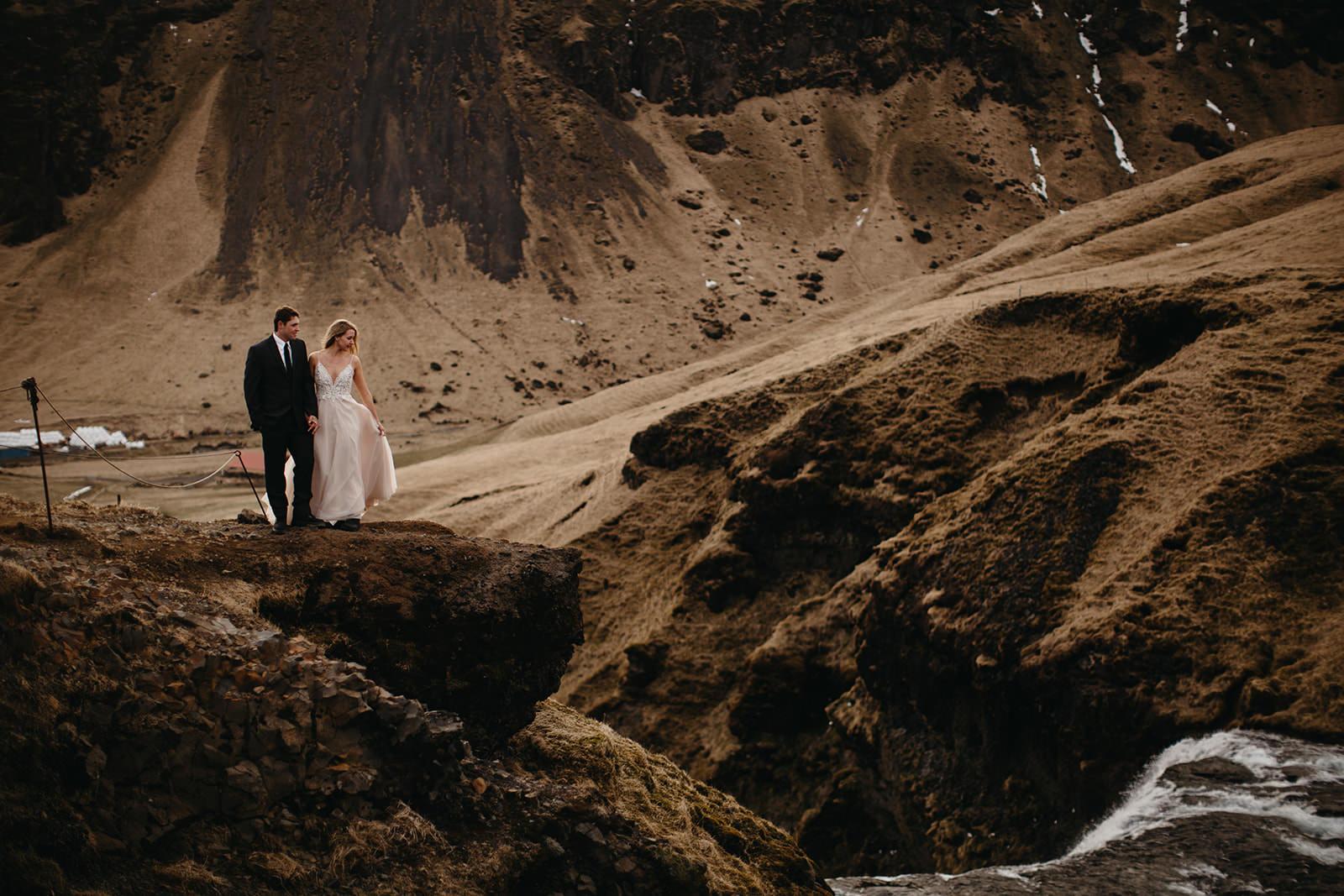Icelandic Iceland Elopement Wedding Elope Photographer Eloping Reykjavík Vik Black Sand Beach Jökulsárlón Skogafoss Waterfall Vestrahorn Mountain Liz Osban Photography Destination 92.jpg