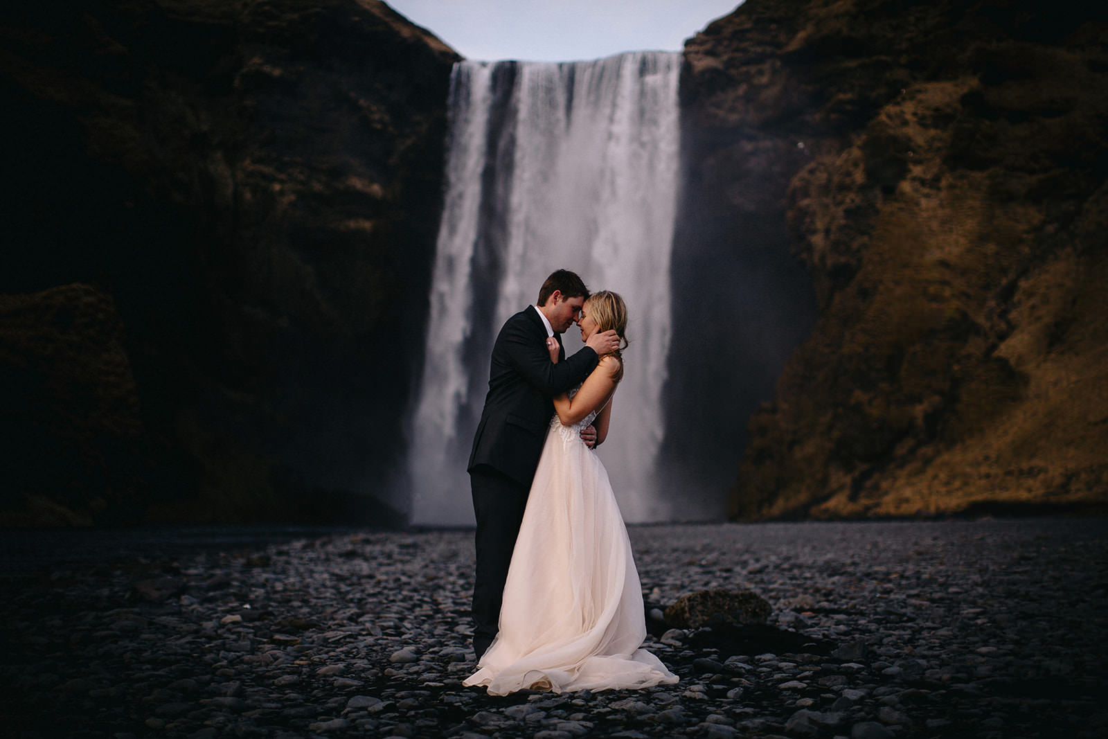 Icelandic Iceland Elopement Wedding Elope Photographer Eloping Reykjavík Vik Black Sand Beach Jökulsárlón Skogafoss Waterfall Vestrahorn Mountain Liz Osban Photography Destination 96.jpg