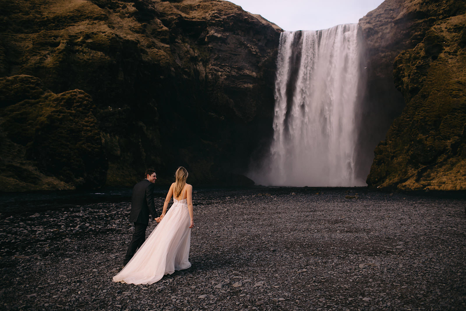 Icelandic Iceland Elopement Wedding Elope Photographer Eloping Reykjavík Vik Black Sand Beach Jökulsárlón Skogafoss Waterfall Vestrahorn Mountain Liz Osban Photography Destination 95.jpg