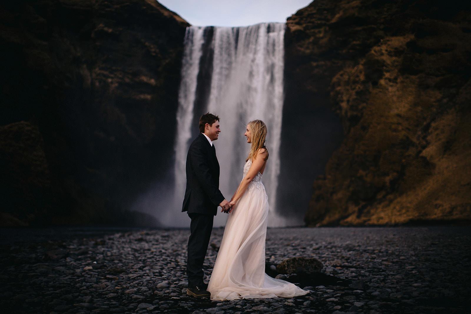 Icelandic Iceland Elopement Wedding Elope Photographer Eloping Reykjavík Vik Black Sand Beach Jökulsárlón Skogafoss Waterfall Vestrahorn Mountain Liz Osban Photography Destination 97.jpg