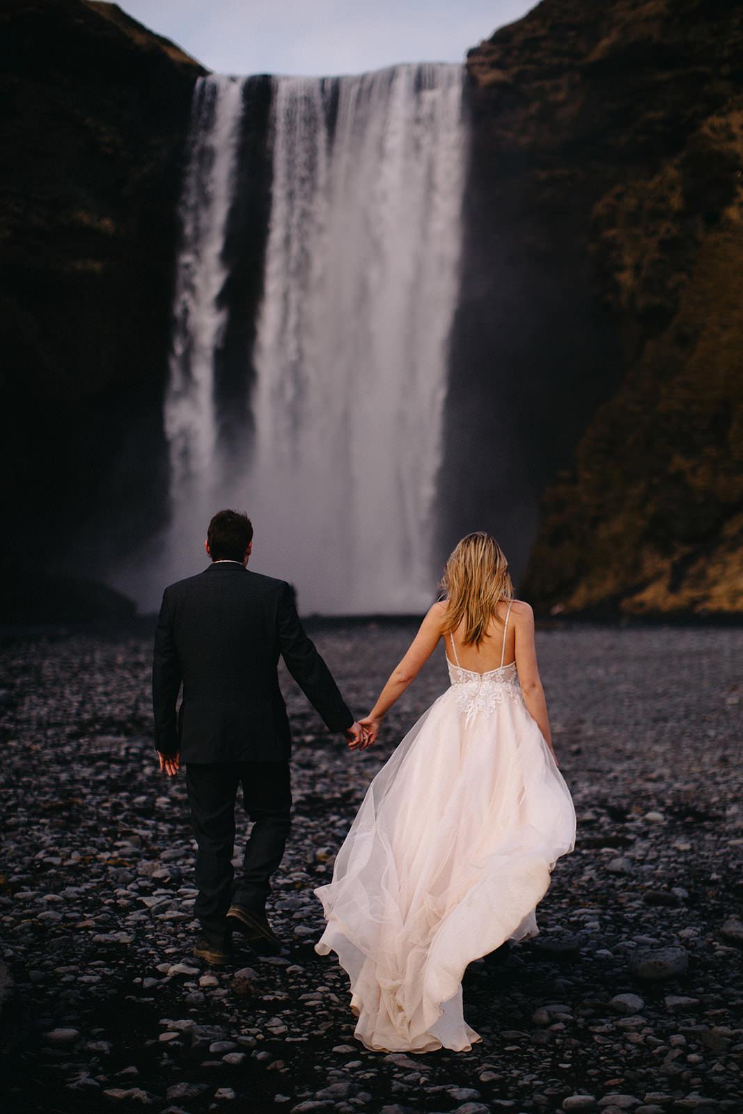 Icelandic Iceland Elopement Wedding Elope Photographer Eloping Reykjavík Vik Black Sand Beach Jökulsárlón Skogafoss Waterfall Vestrahorn Mountain Liz Osban Photography Destination 98.jpg