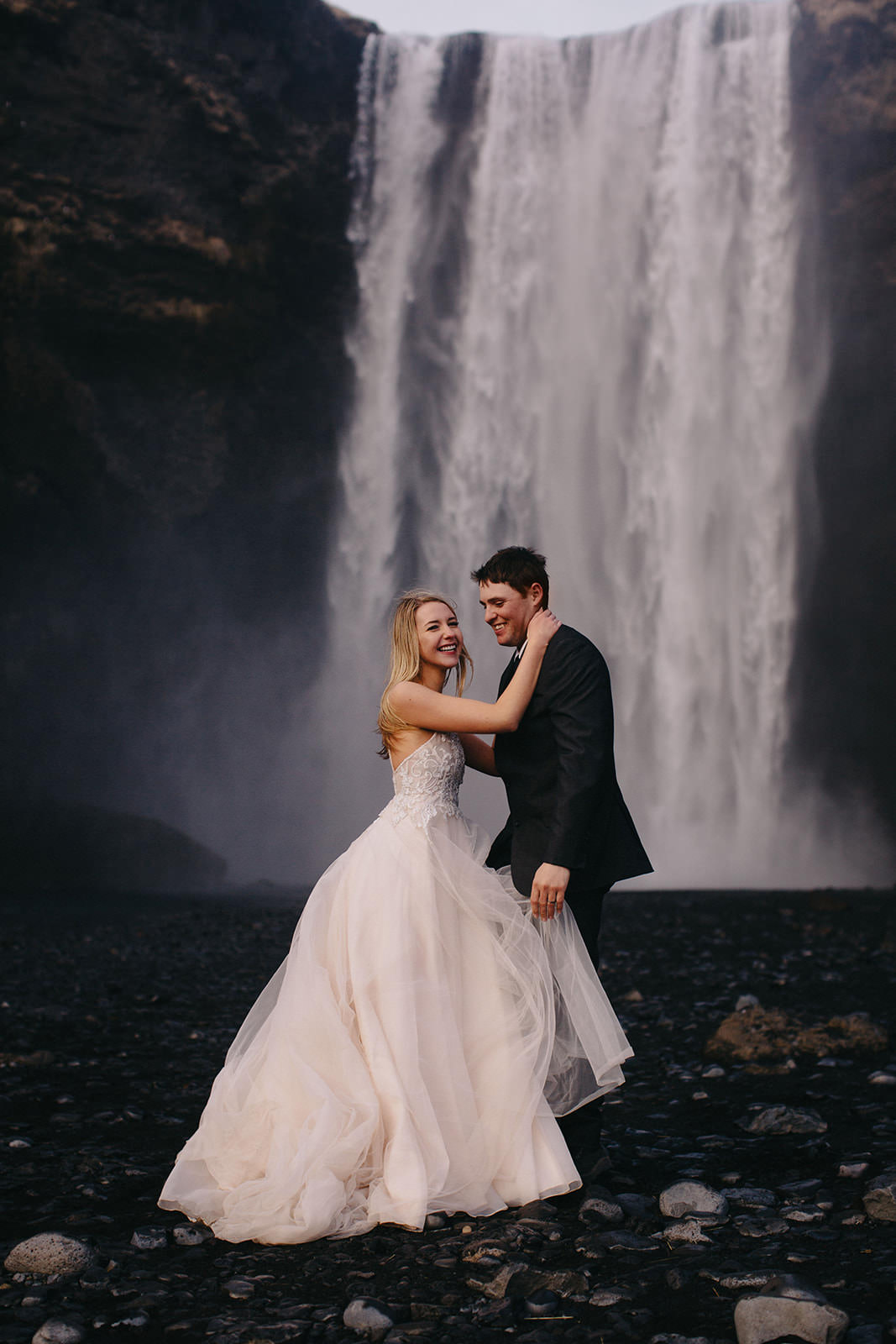Icelandic Iceland Elopement Wedding Elope Photographer Eloping Reykjavík Vik Black Sand Beach Jökulsárlón Skogafoss Waterfall Vestrahorn Mountain Liz Osban Photography Destination 103.jpg