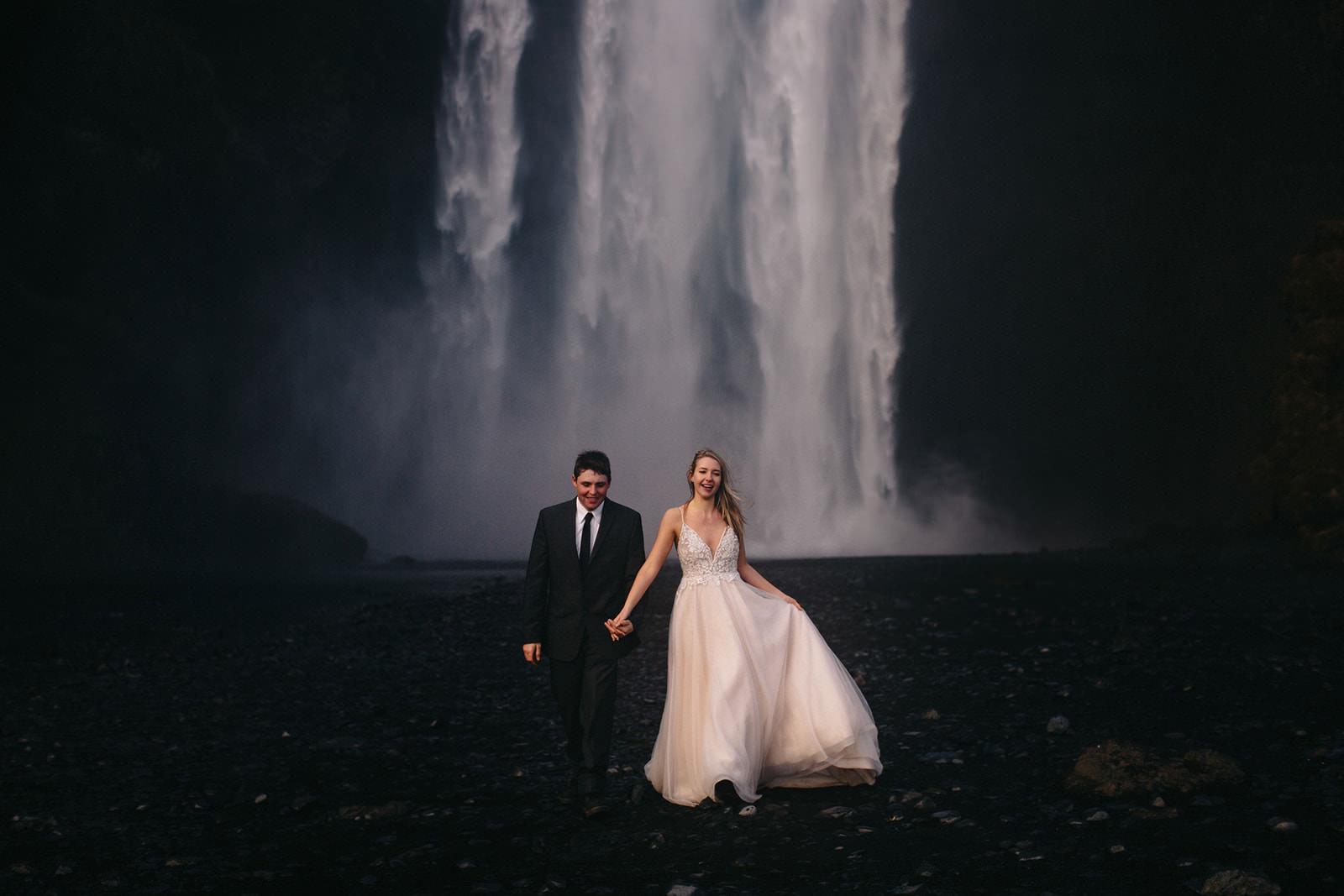 Icelandic Iceland Elopement Wedding Elope Photographer Eloping Reykjavík Vik Black Sand Beach Jökulsárlón Skogafoss Waterfall Vestrahorn Mountain Liz Osban Photography Destination 107.jpg