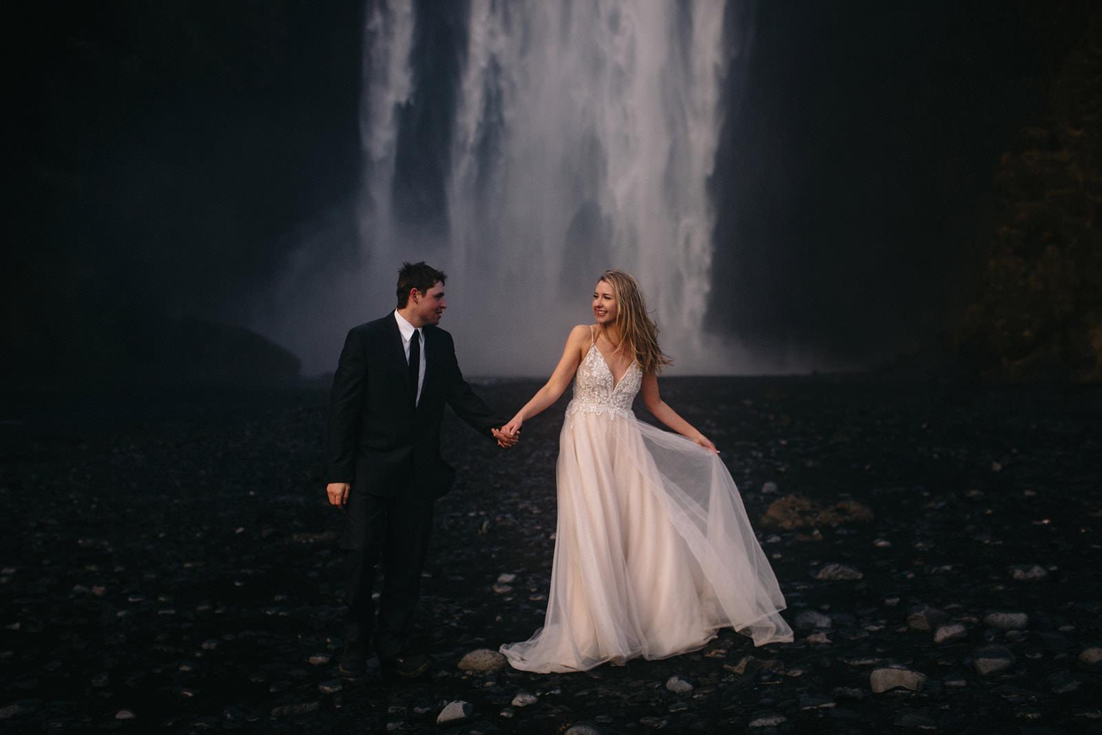 Icelandic Iceland Elopement Wedding Elope Photographer Eloping Reykjavík Vik Black Sand Beach Jökulsárlón Skogafoss Waterfall Vestrahorn Mountain Liz Osban Photography Destination 109.jpg