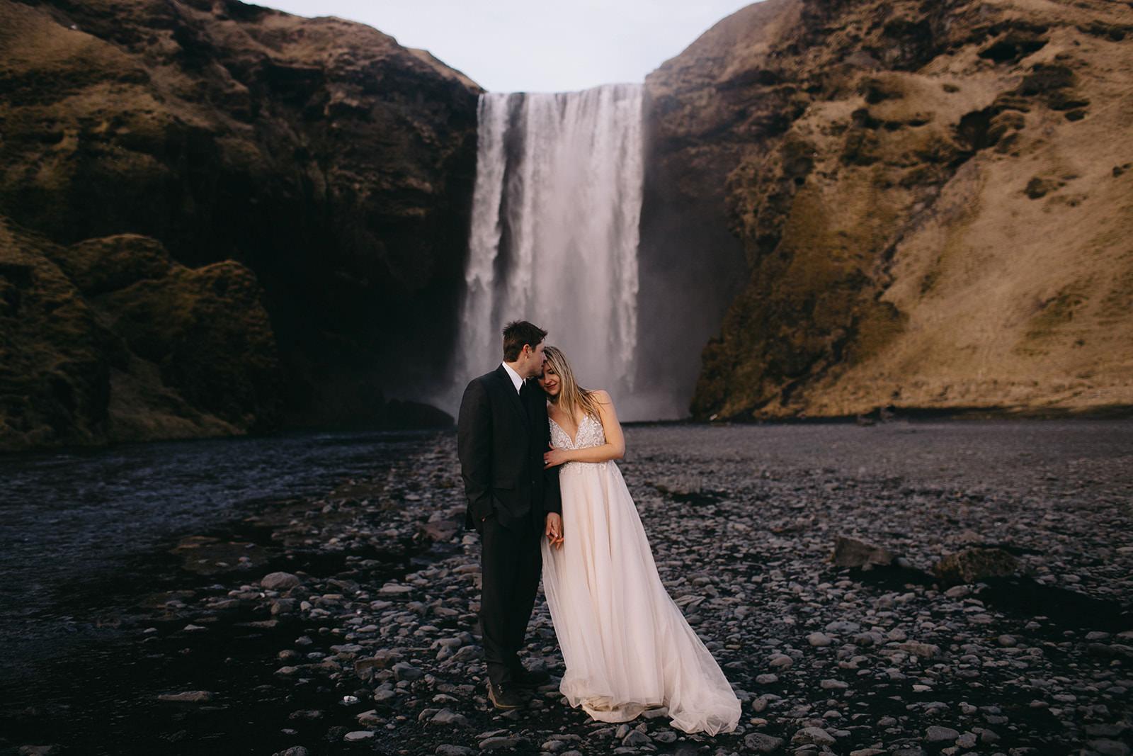 Icelandic Iceland Elopement Wedding Elope Photographer Eloping Reykjavík Vik Black Sand Beach Jökulsárlón Skogafoss Waterfall Vestrahorn Mountain Liz Osban Photography Destination 110.jpg