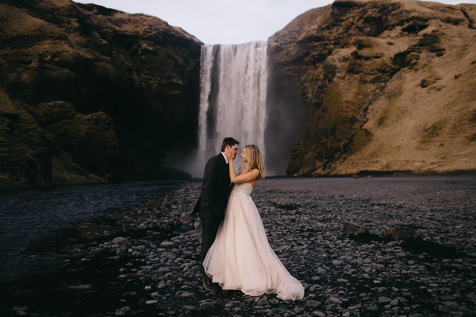 Icelandic Iceland Elopement Wedding Elope Photographer Eloping Reykjavík Vik Black Sand Beach Jökulsárlón Skogafoss Waterfall Vestrahorn Mountain Liz Osban Photography Destination 111.jpg