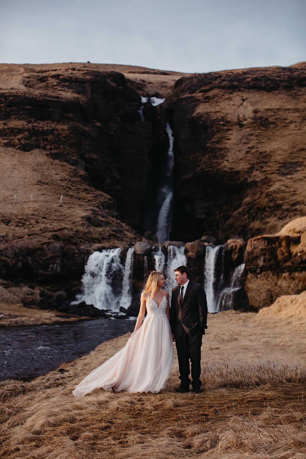 Icelandic Iceland Elopement Wedding Elope Photographer Eloping Reykjavík Vik Black Sand Beach Jökulsárlón Skogafoss Waterfall Vestrahorn Mountain Liz Osban Photography Destination 114.jpg
