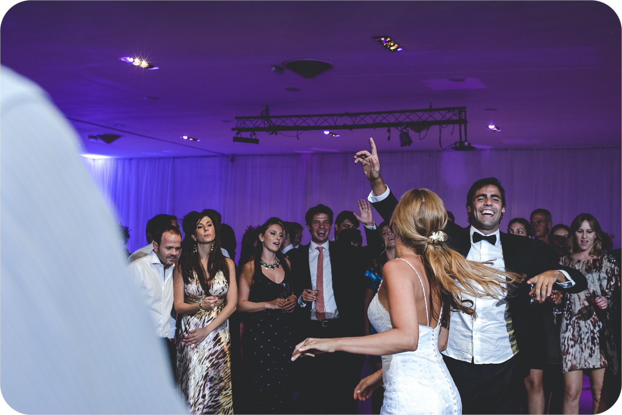 Sesión de fotos casamiento