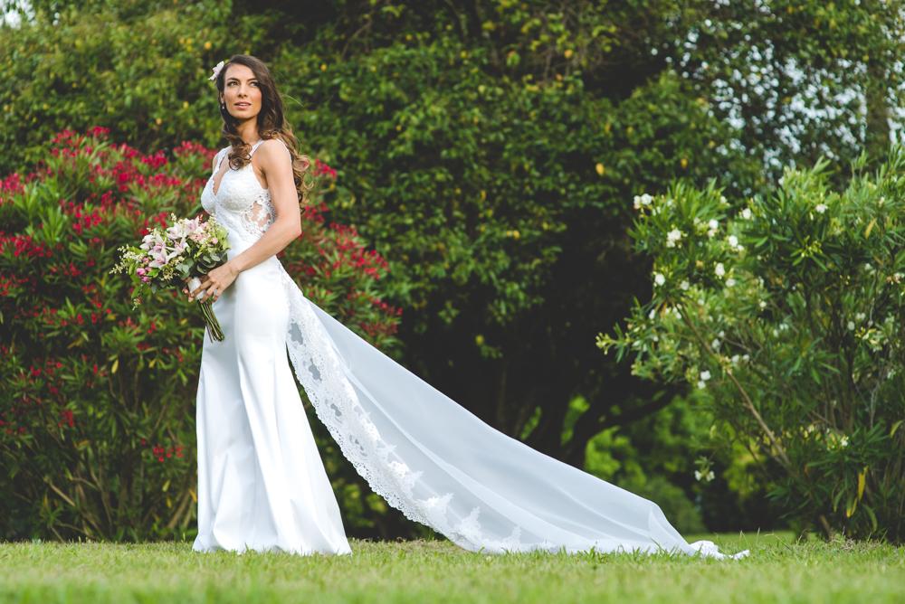 Vestido de novia Carina Volentiera   Maxi Oviedo
