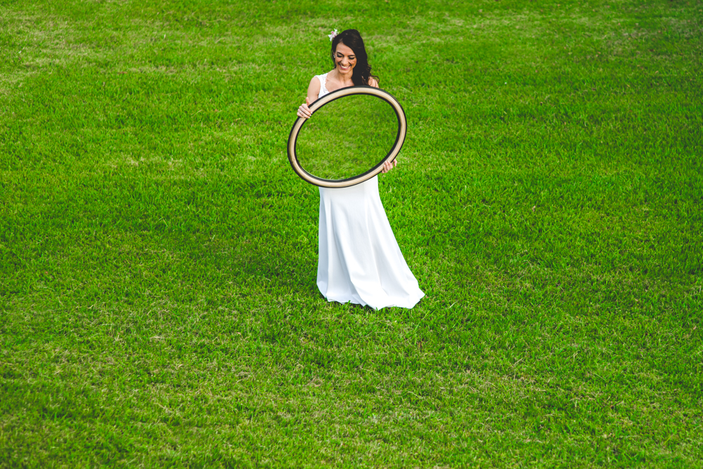 Fotos de novia original   Maxi Oviedo