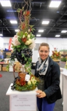 A   floristry competition,   Adelaide 2014