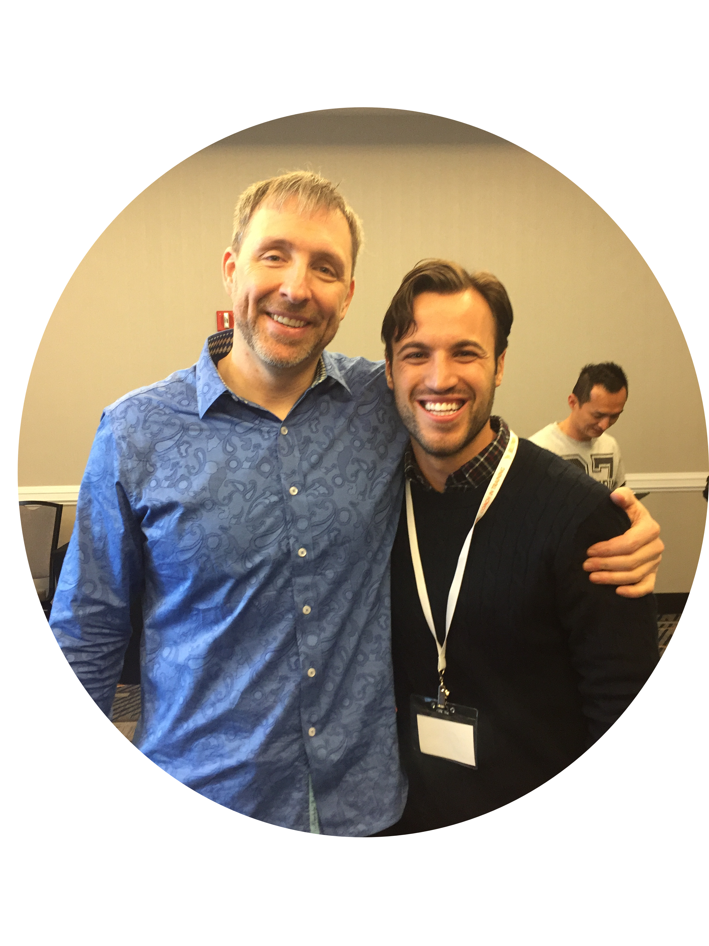 Dave Asprey and I at the Bulletproof Coach Training weekend intensive in Brooklyn, NY Feb 2016