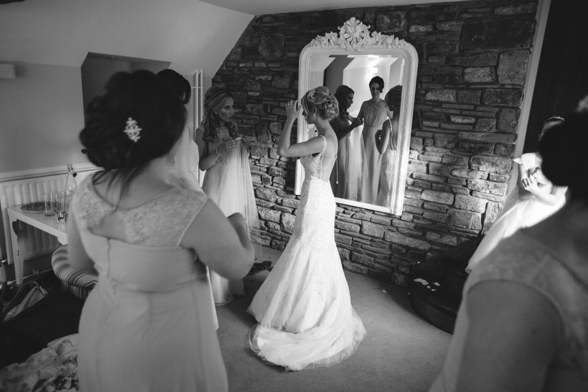 Kayleigh and Kirk from Bryn Garw House whilst shooting videography @ Arcadia Wedding Films