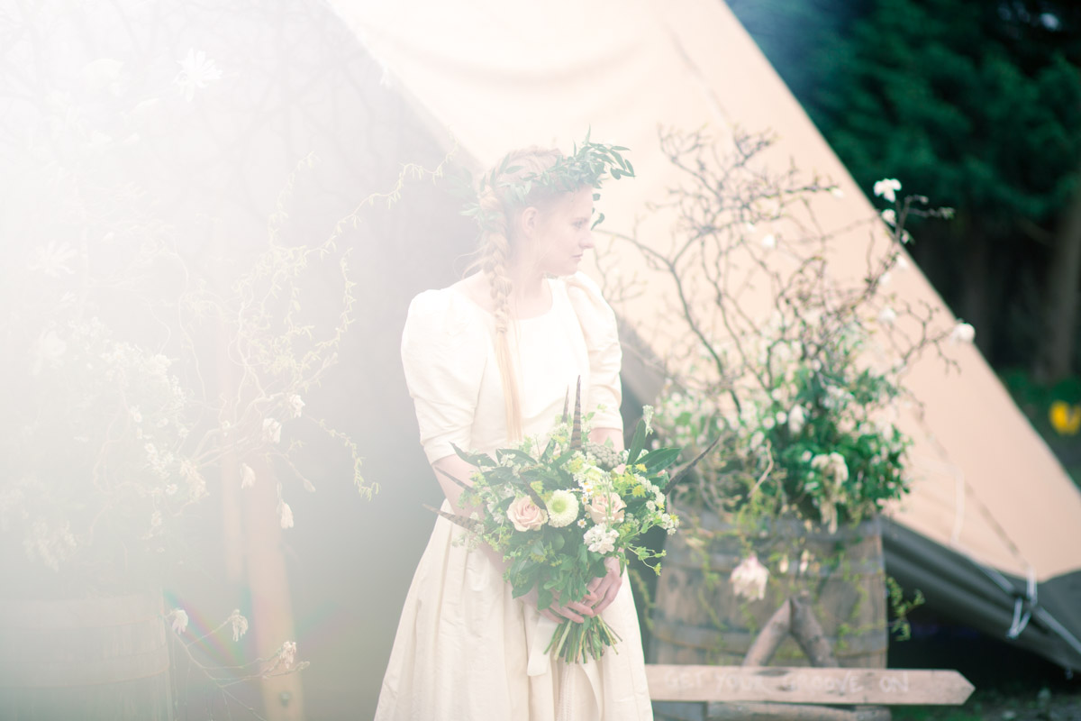 A quick shot from the Indie Wedding Fayre's Styled shoot full write up to come make sure you follow me to get the full write up with images.