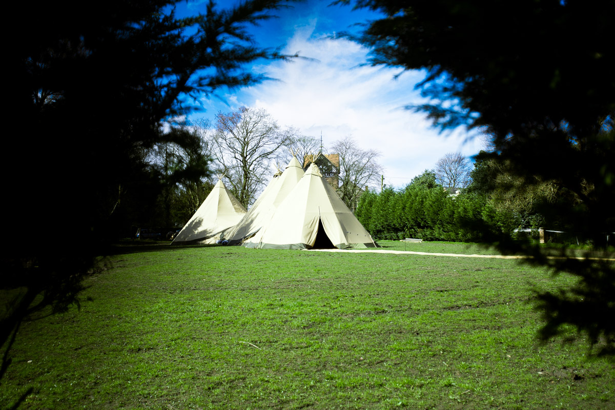 How amazing are these Tipi's from  Soft Touch Events Indie Wedding Fa ir ( @tipiunique ) the guys who put them up were all really fun to hang out with too.