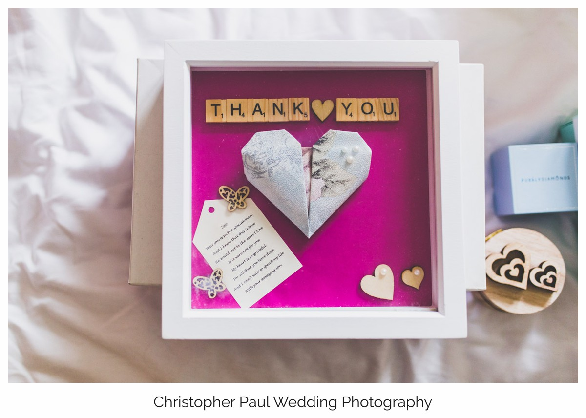 All the little wedding details make the day extra special
