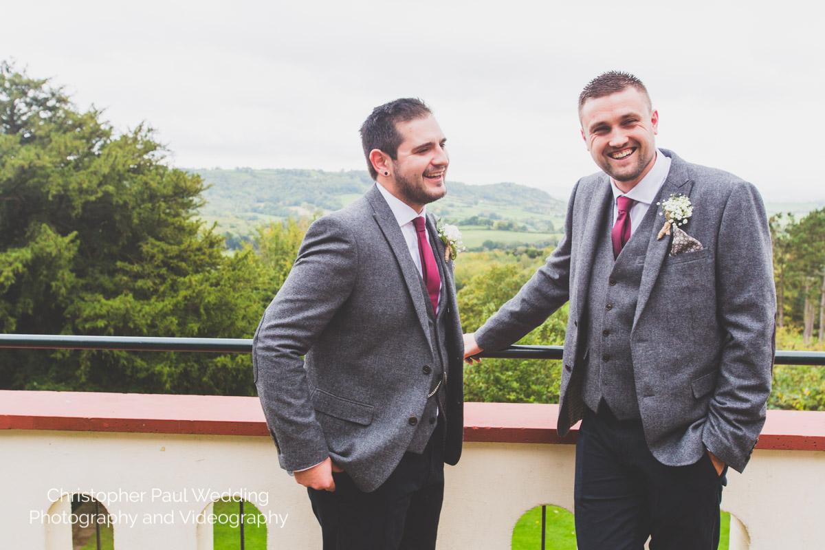 Caer Llan wedding wales