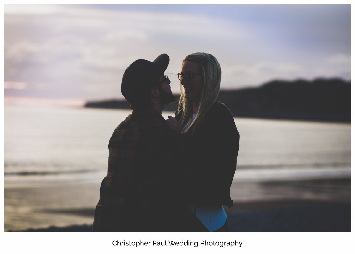 The excited couple talk about their big wedding plans at Canada Lake and Lodge South Wales Wedding Photographers