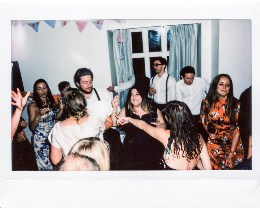 All of the guests half way through the wedding reception party at the Kymin. I love this photo it just feels cosy.