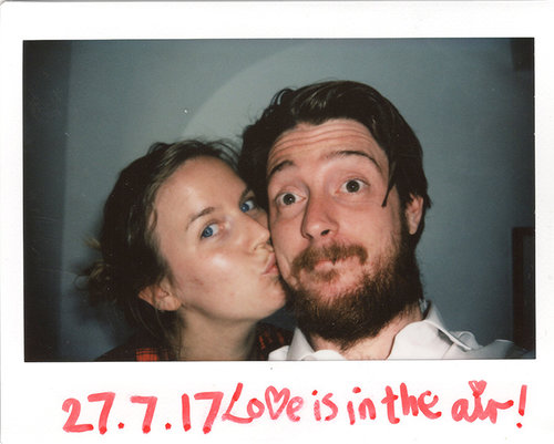 My Wife and I got married in 2017, I took a few personal Polaroid's on the day