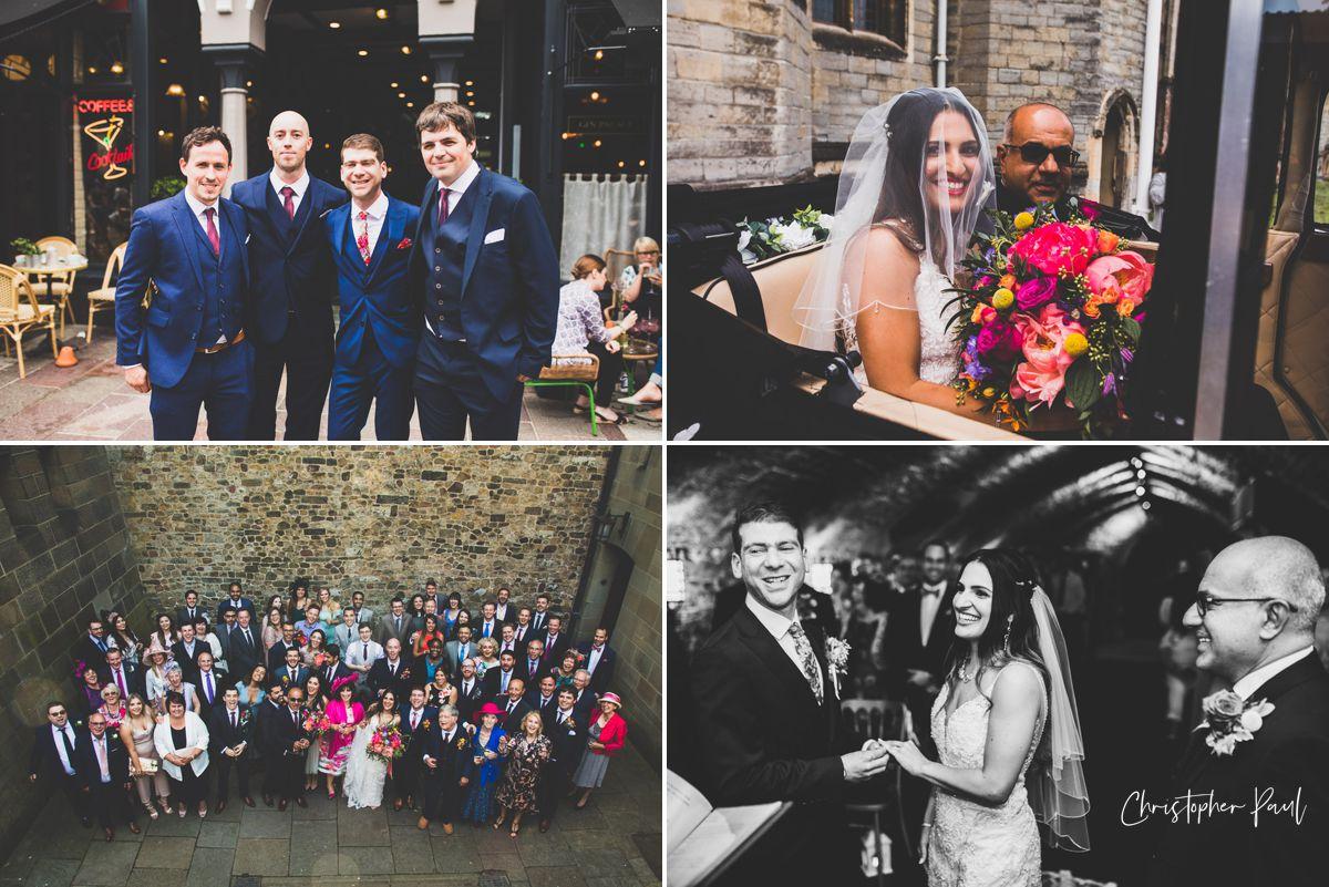 Cardiff Castle Wedding Photos