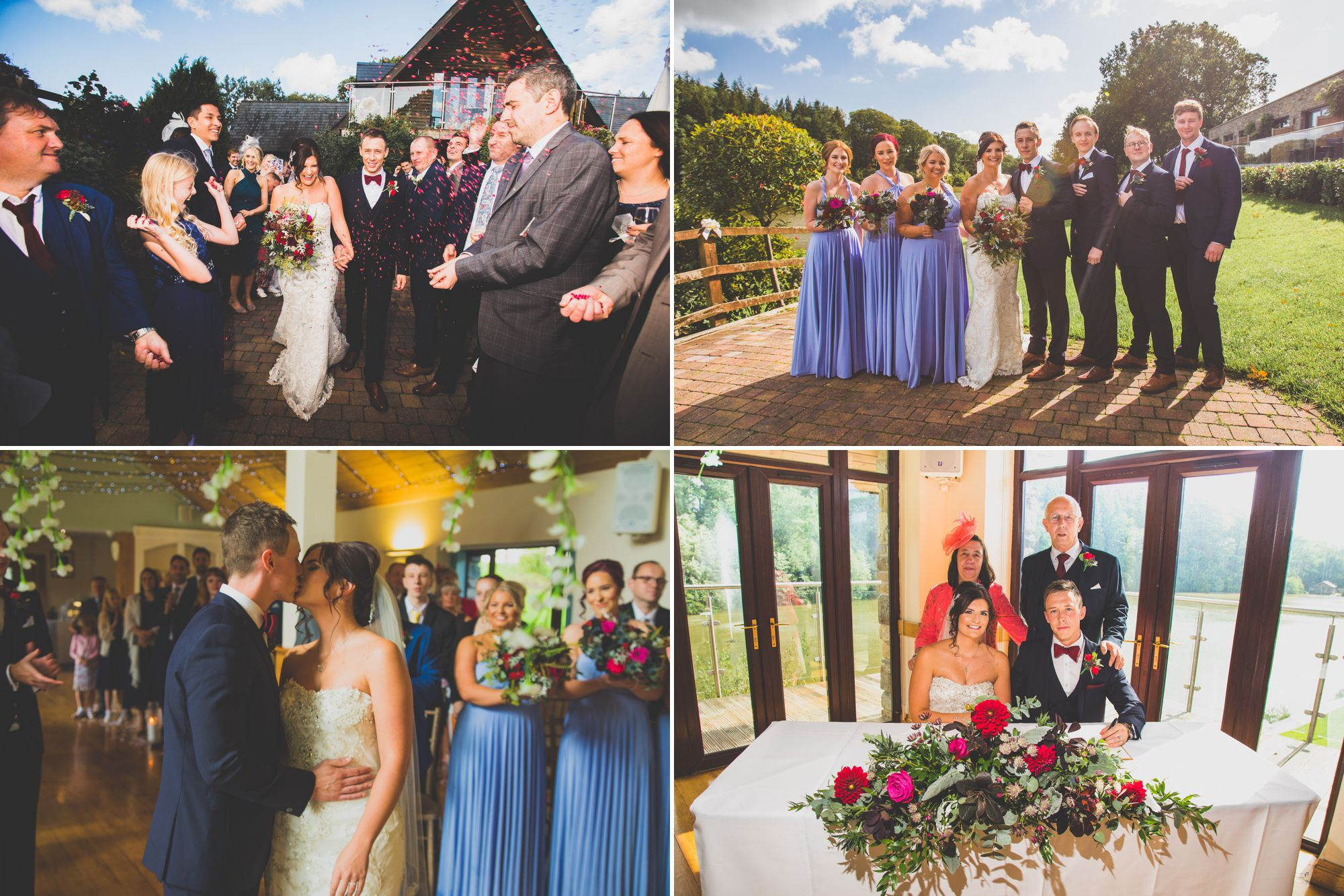 Canada Lake and Lodge Wedding Photos
