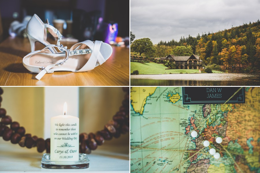 Canada Lake and Lodge Wedding Details