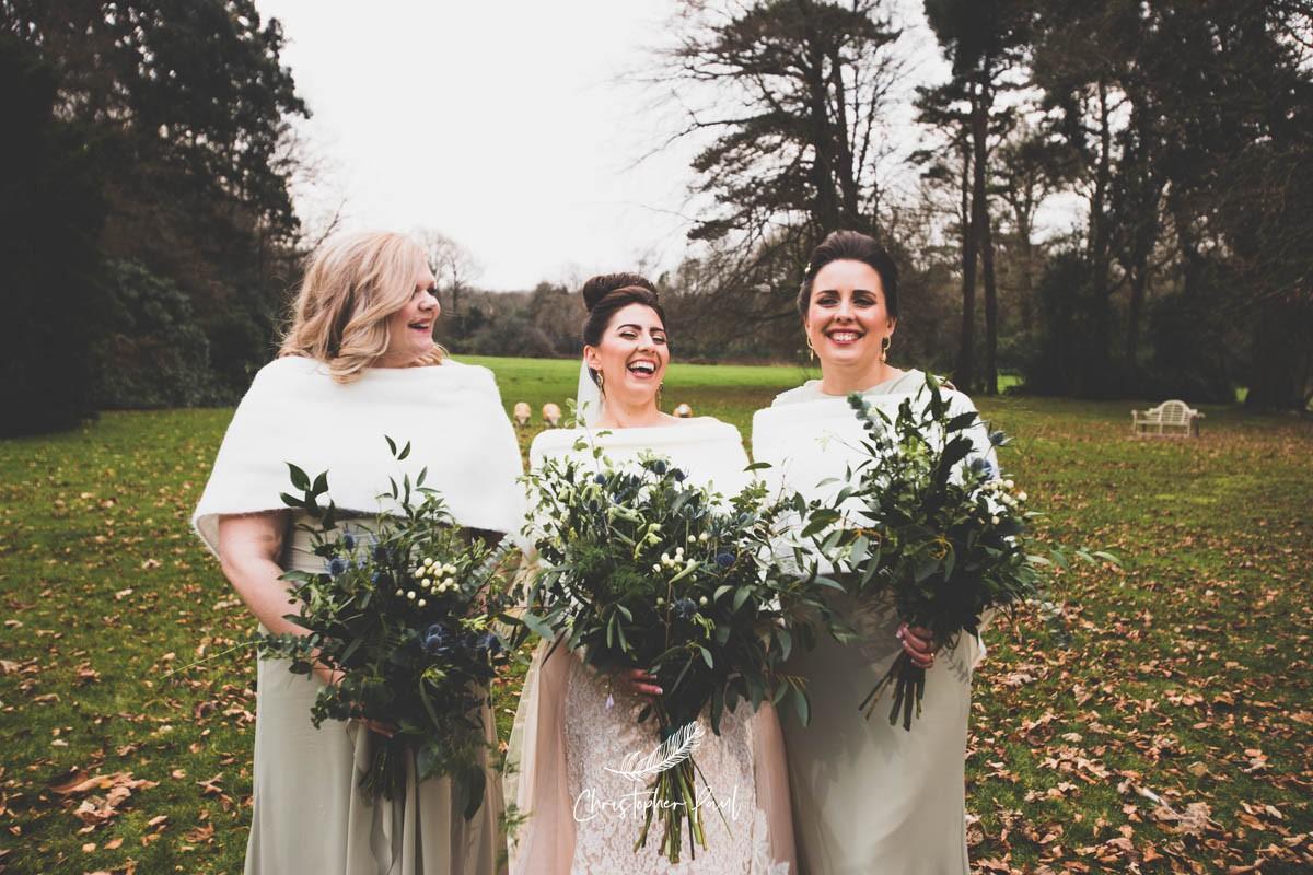 Fairyhill wedding photo