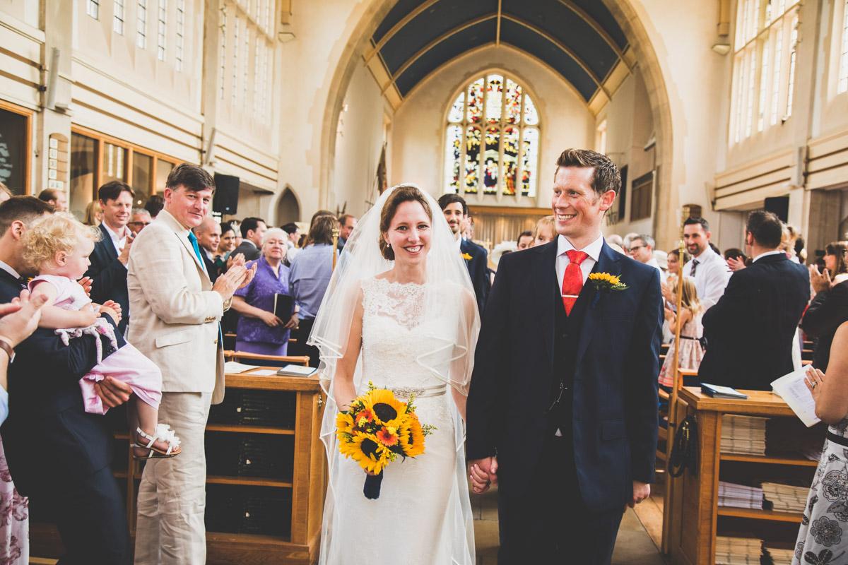 Just married Bristol, Sarah and Matt in Bristol