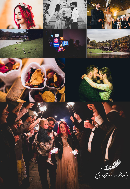 Autumn Wedding Photos South Wales