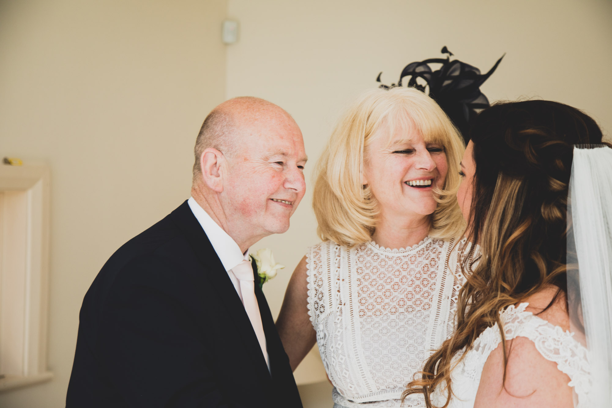 Father of the bride at home