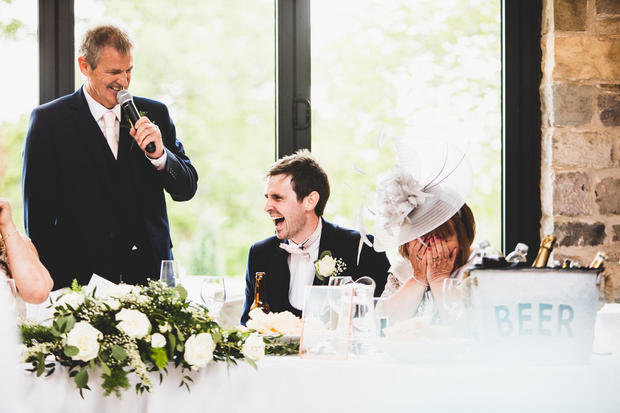 Perfect moment wedding speech