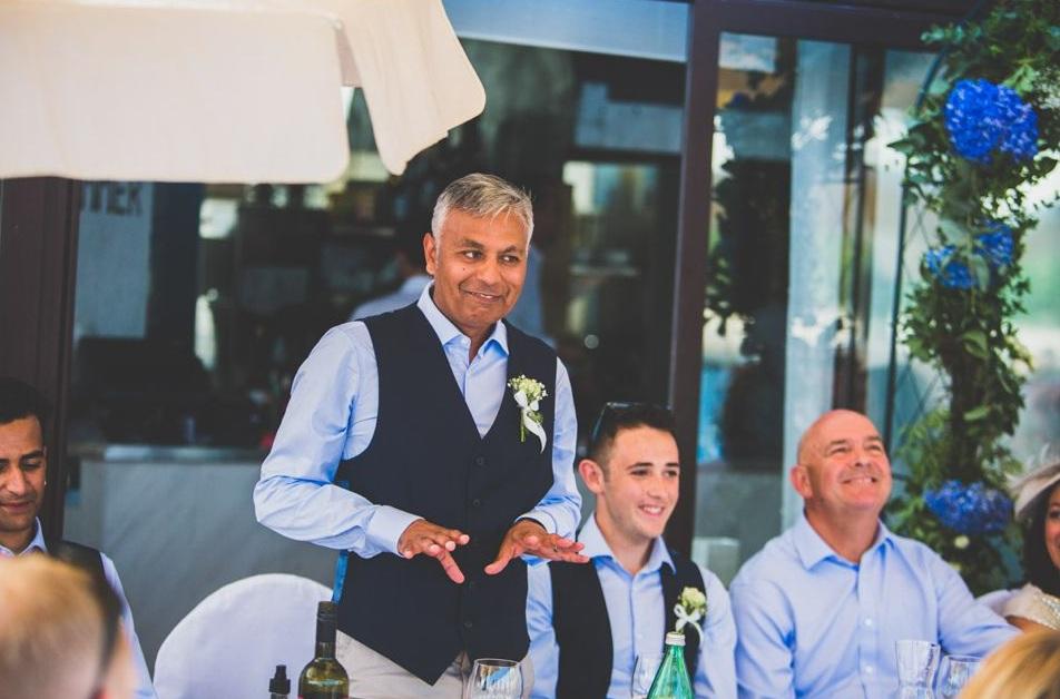 Father of the Bride in Croatia