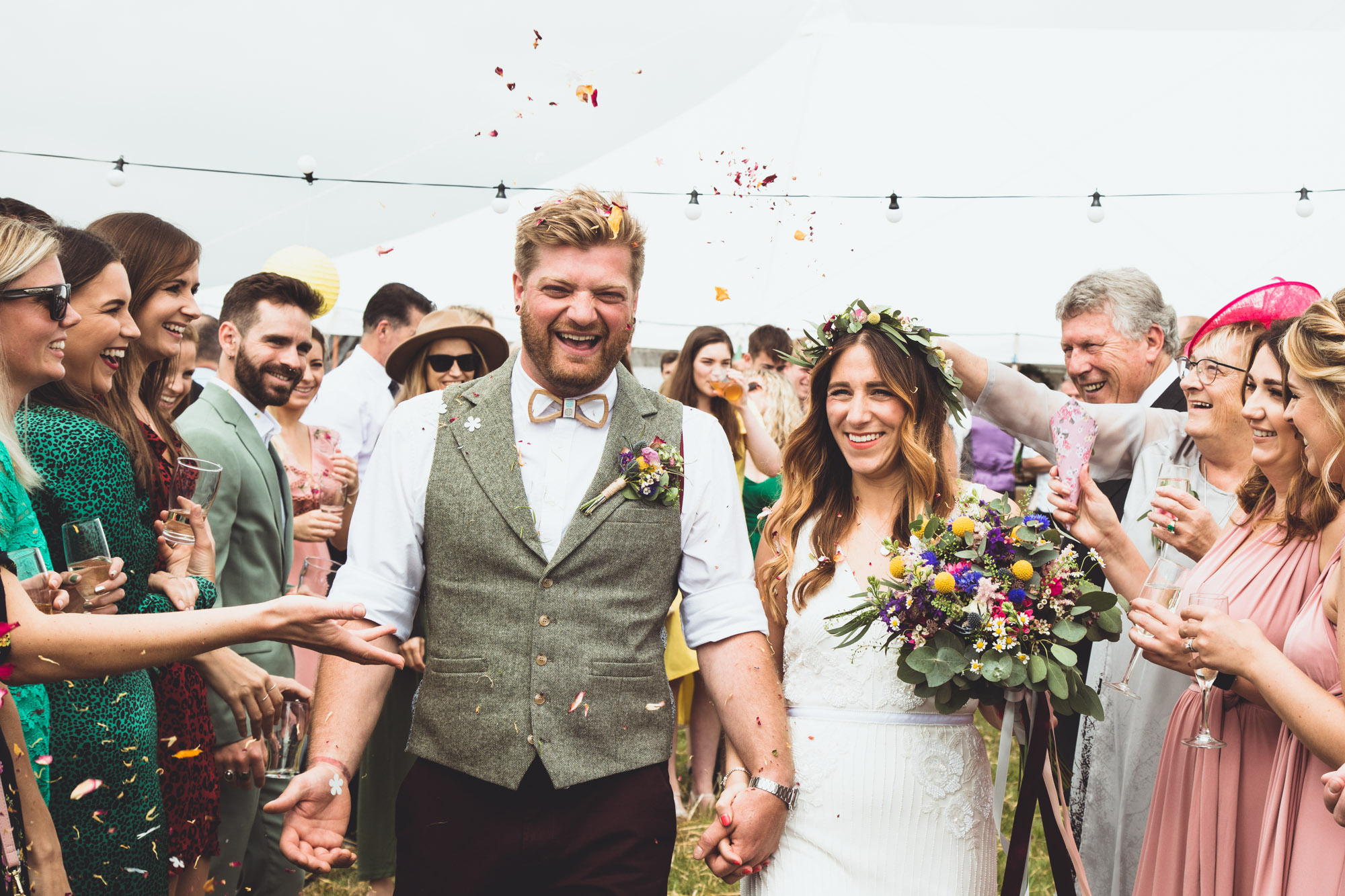 Check out more South Wales Festival Weddings here