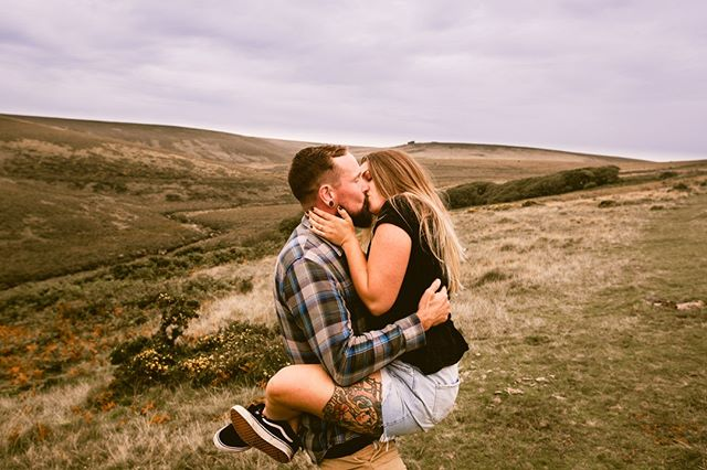 These guys absolutely nailed it ! 😍😍😍 Poppy and Dave's engagement shoot in Dartmoor National Park yesterday 🤟❤️ X X X