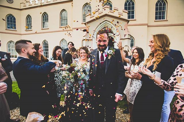 Love the confetti madness! Having a blast with my man Dave and the lovely Mrs Harwood! @tawstockcourt  #weddingblog #weddingphotographers #southwestweddings #weddingdetails #weddingparty #weddinphotographerscardiff #tog #weddingphotoinspiration #weddingdress