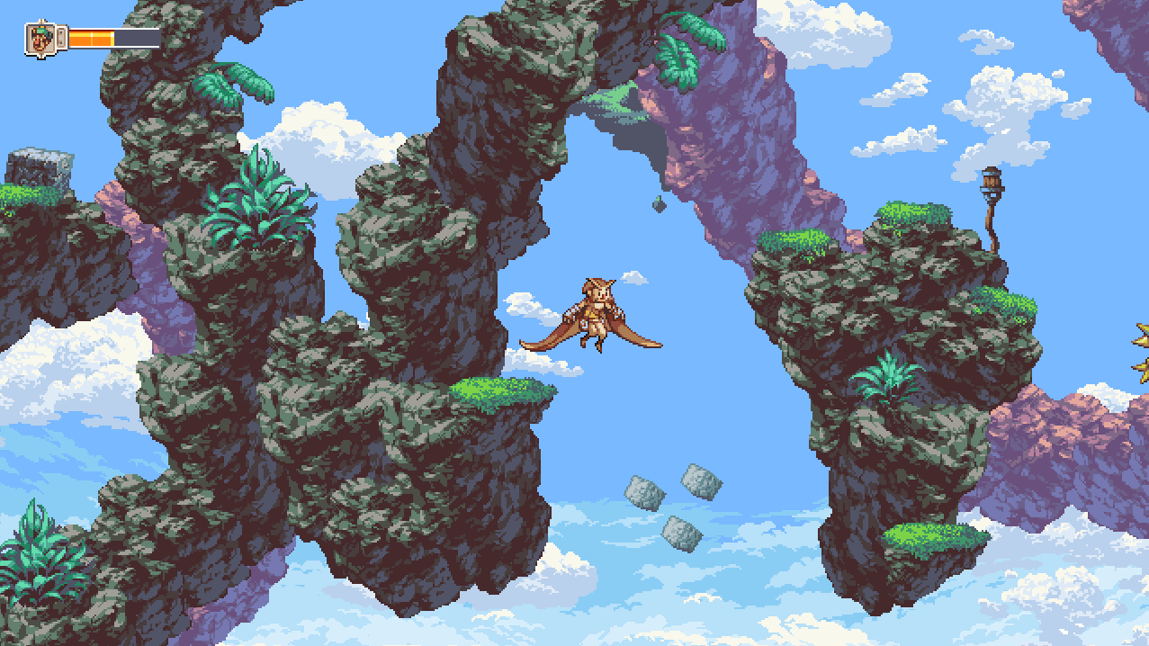 Some areas of Owlboy just feel empty.