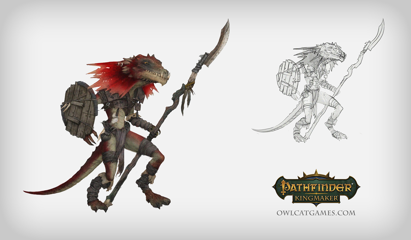 Kobold from sketch to model