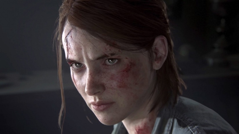 Ellie in The Last of Us Pt 2