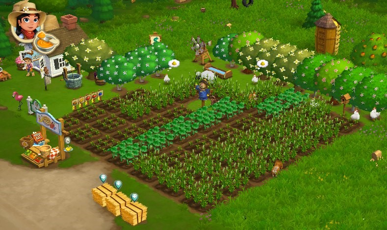 FarmVille 2, which also had microtransactions with its game.